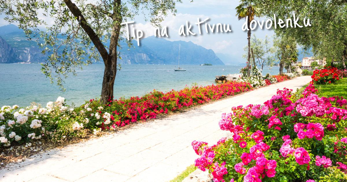 Gardské jazero - taliansky športový raj a poriadna romantika