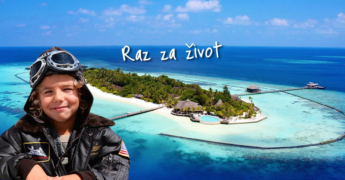 Jeden z najromantickejších hotelov hľadajte na Maldivách
