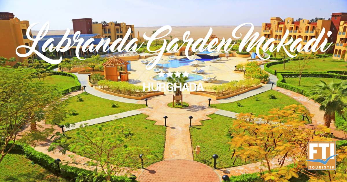 LABRANDA Garden Makadi - unikátna rodinná dovolenka v Makadi