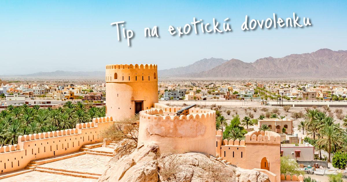 Omán - sultanát z knihy rozprávok