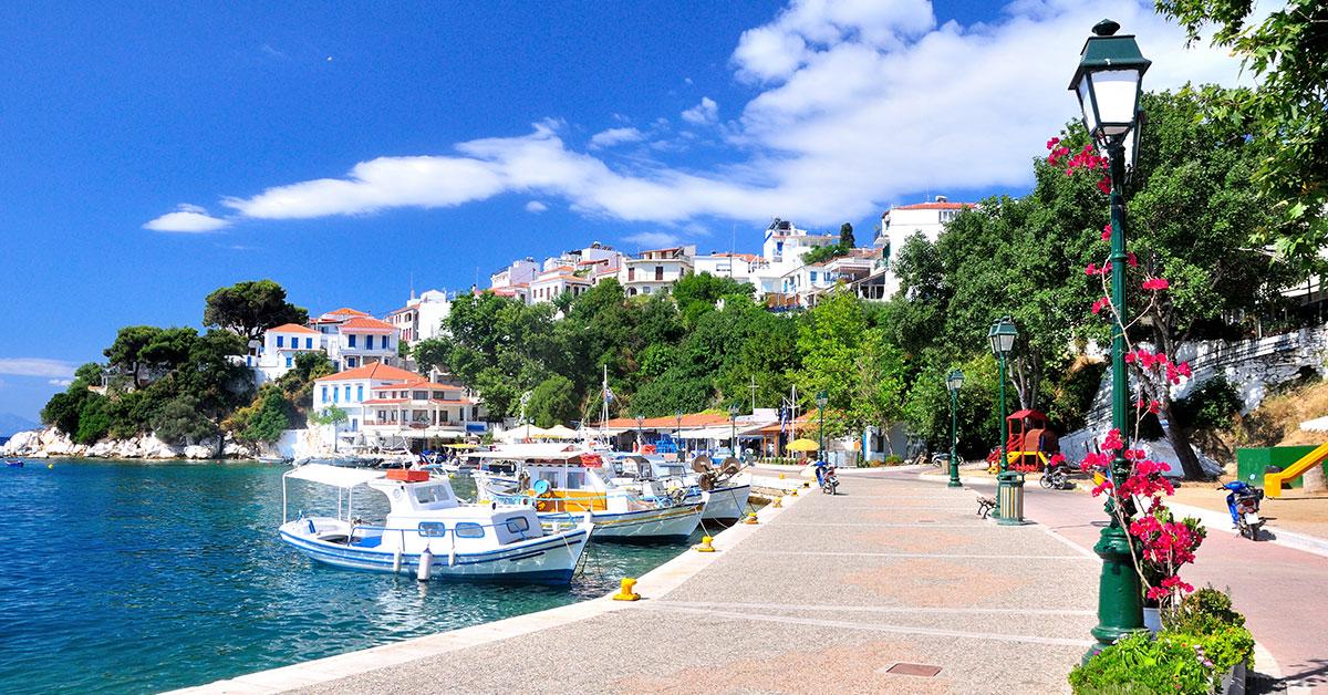 Dovolenka Skiathos, Skopelos a Skyros