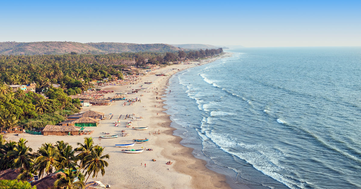 Dovolenka Goa