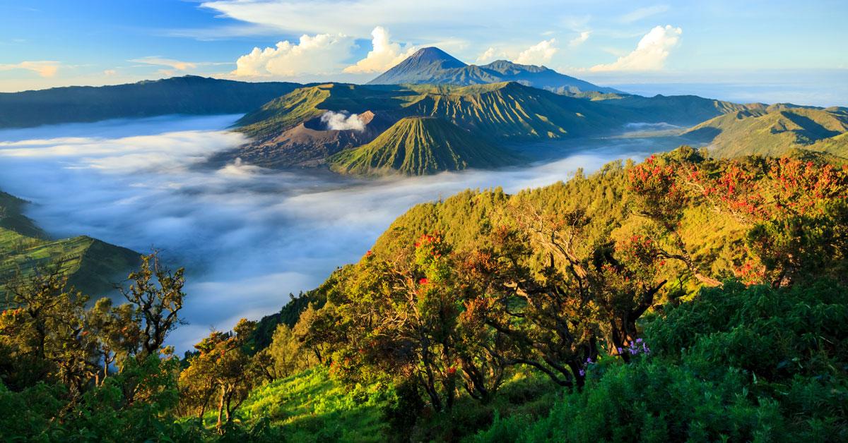 Dovolenka Indonézia