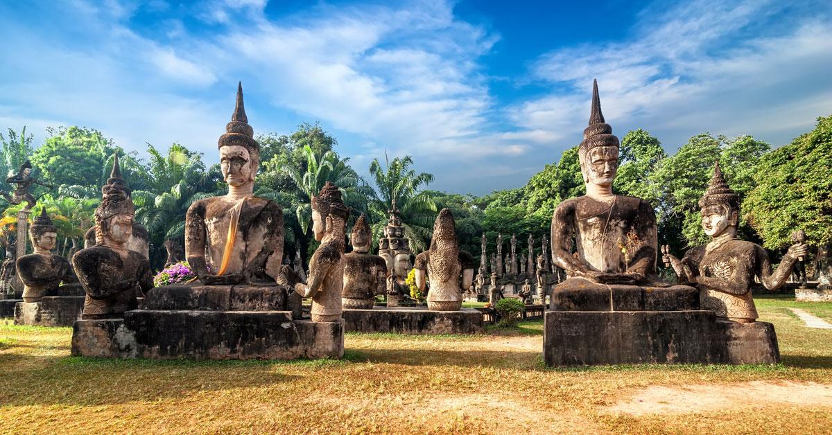 Dovolenka Laos