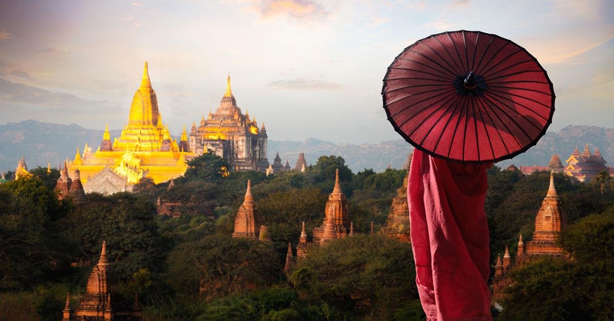 Dovolenka Mjanmarsko