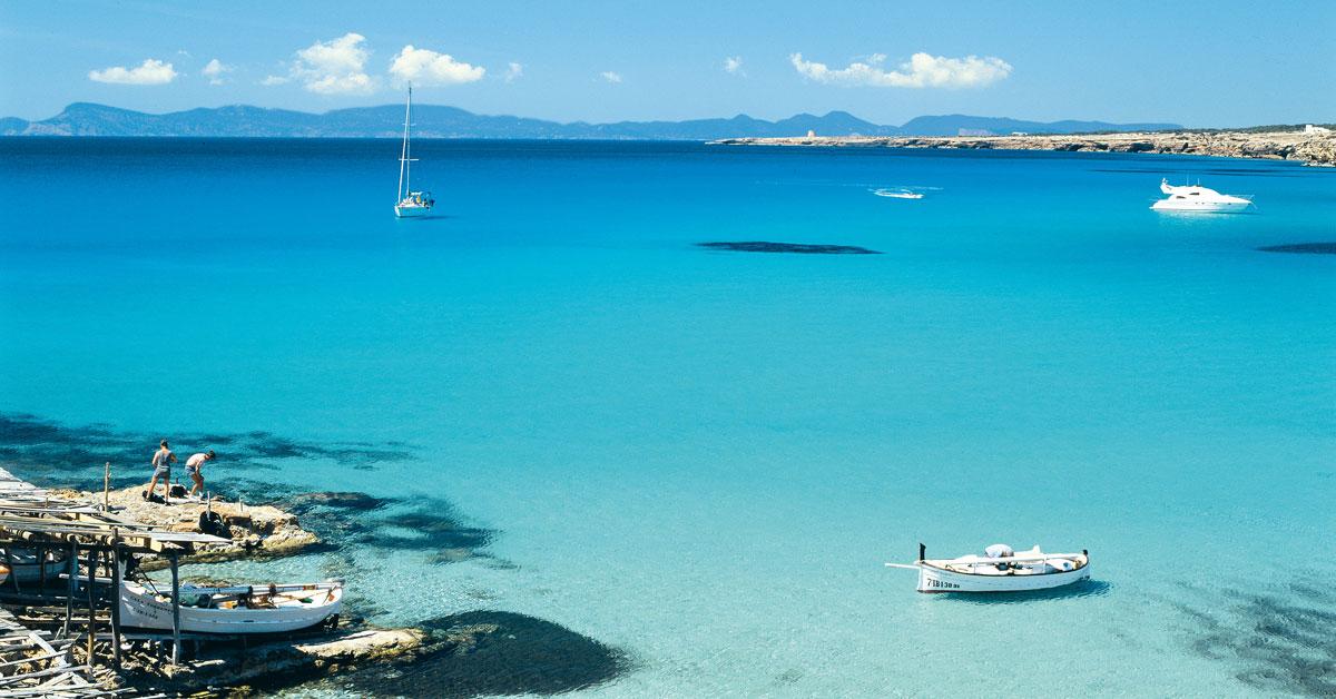 Dovolenka Formentera