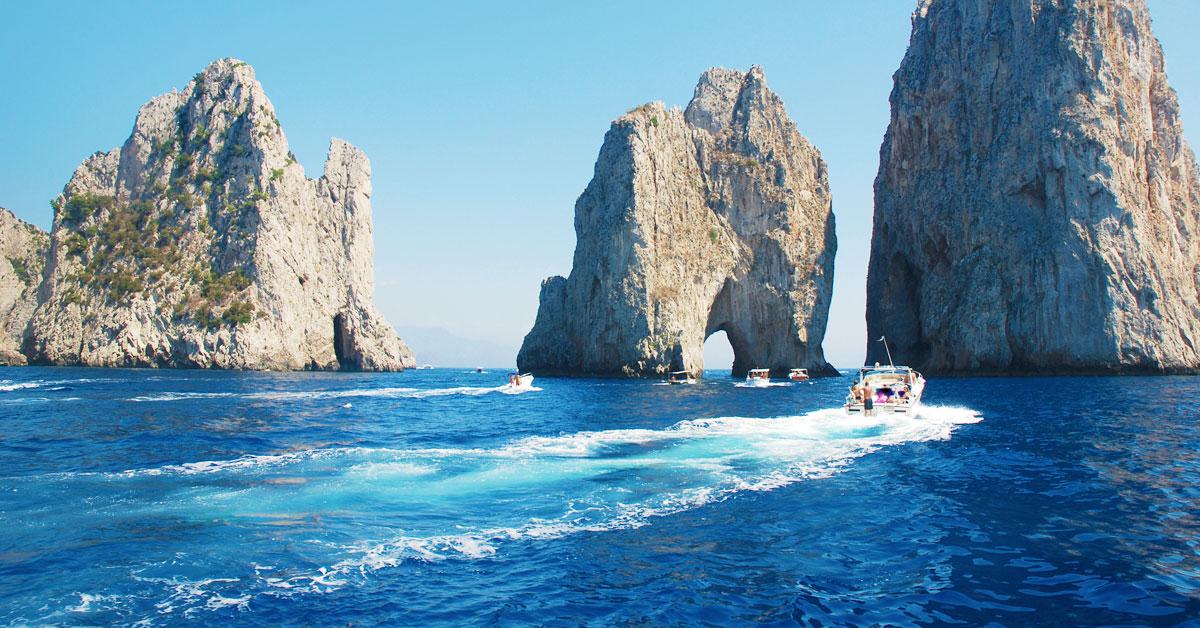Dovolenka Capri