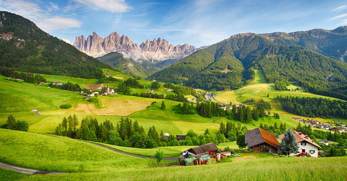 Dovolenka Dolomity