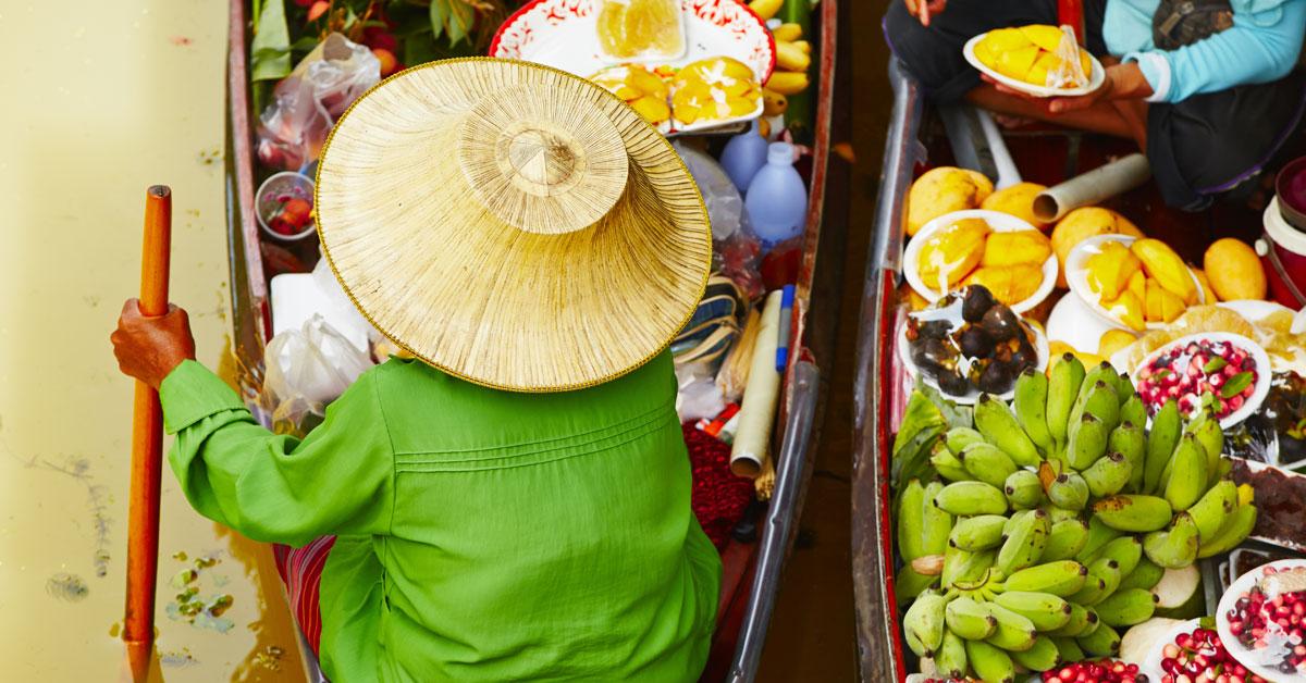 Dovolenka Bangkok a okolie