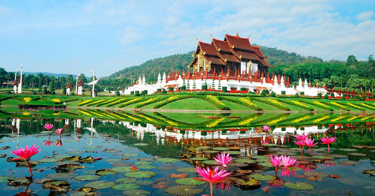 Dovolenka Chiang Mai, Chiang Rai a Sukhothai