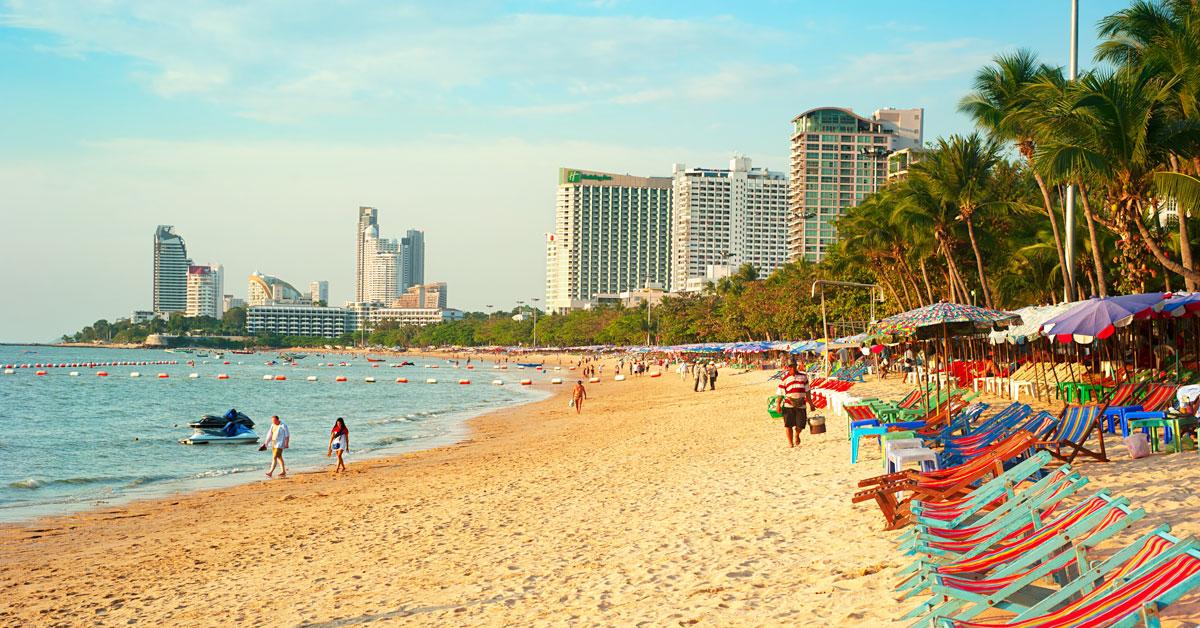 Dovolenka Pattaya a Jomtien