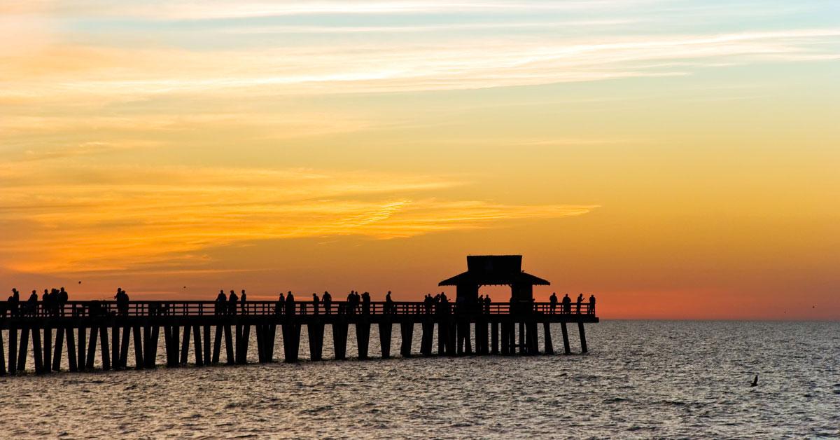 Florida - Západné pobrežie